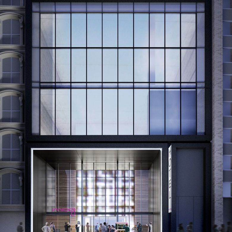 Moxy_Downtown_s_Striking_Entrance_features_Impressive_LED_Wall_as_Virtual_Window_to_Hotel