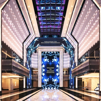 WATG + Wimberly Interiors_Bellagio Shanghai_Atrium