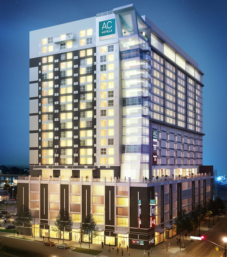 The United States First Triple Branded Marriott Property