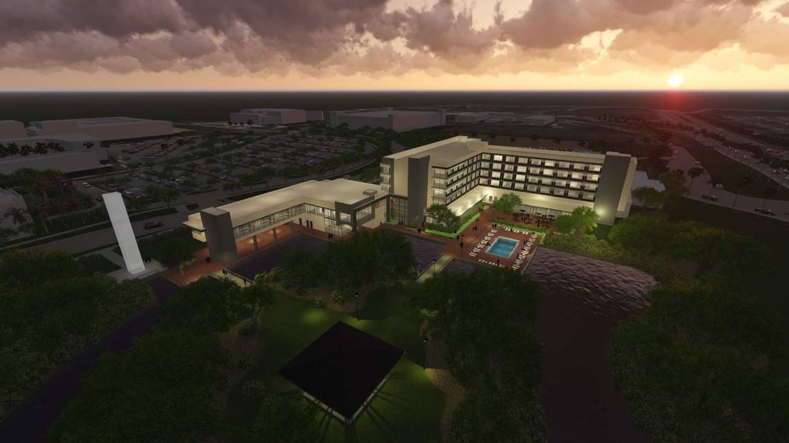 Florida International University is getting its Own Hotel On Campus