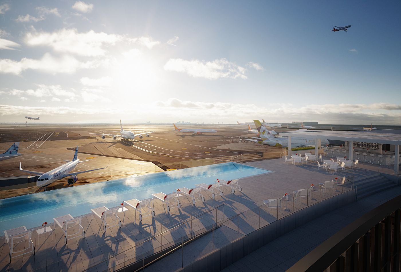 TWA Hotel At JFK is Getting A Rooftop Pool With Views Of The Runways