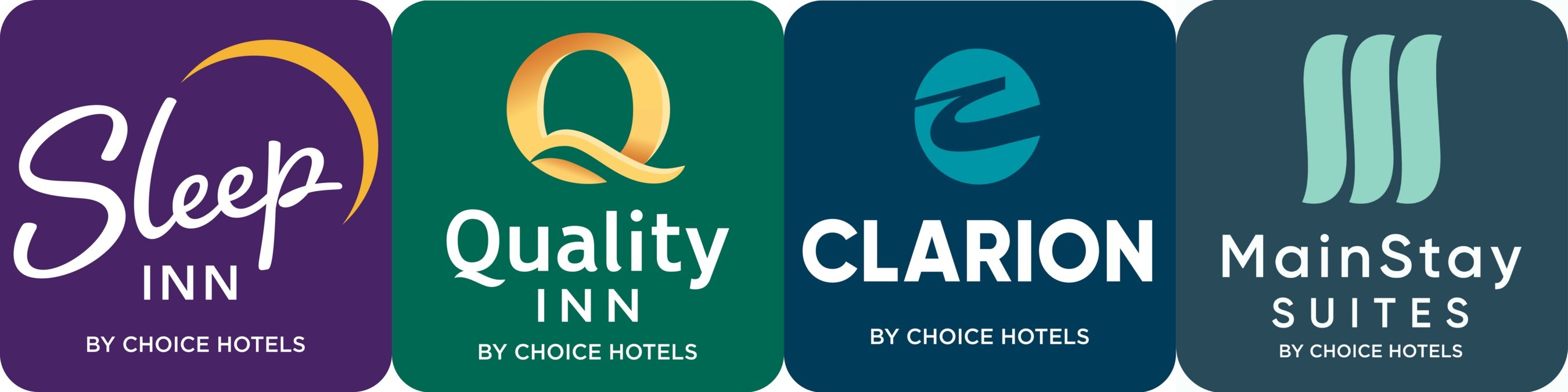 Choice Hotels Shows Off Refreshed Look Of Four Of Its Midscale Brands Logos