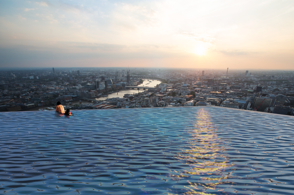 London Will Soon Be Home To The Scariest Hotel pool