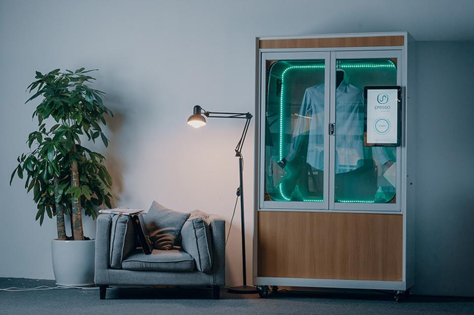 A Hotel Vending Machine That Can Do Your Dry Cleaning In Five Minutes